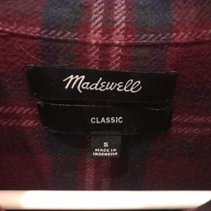 Women's Madewell flannel